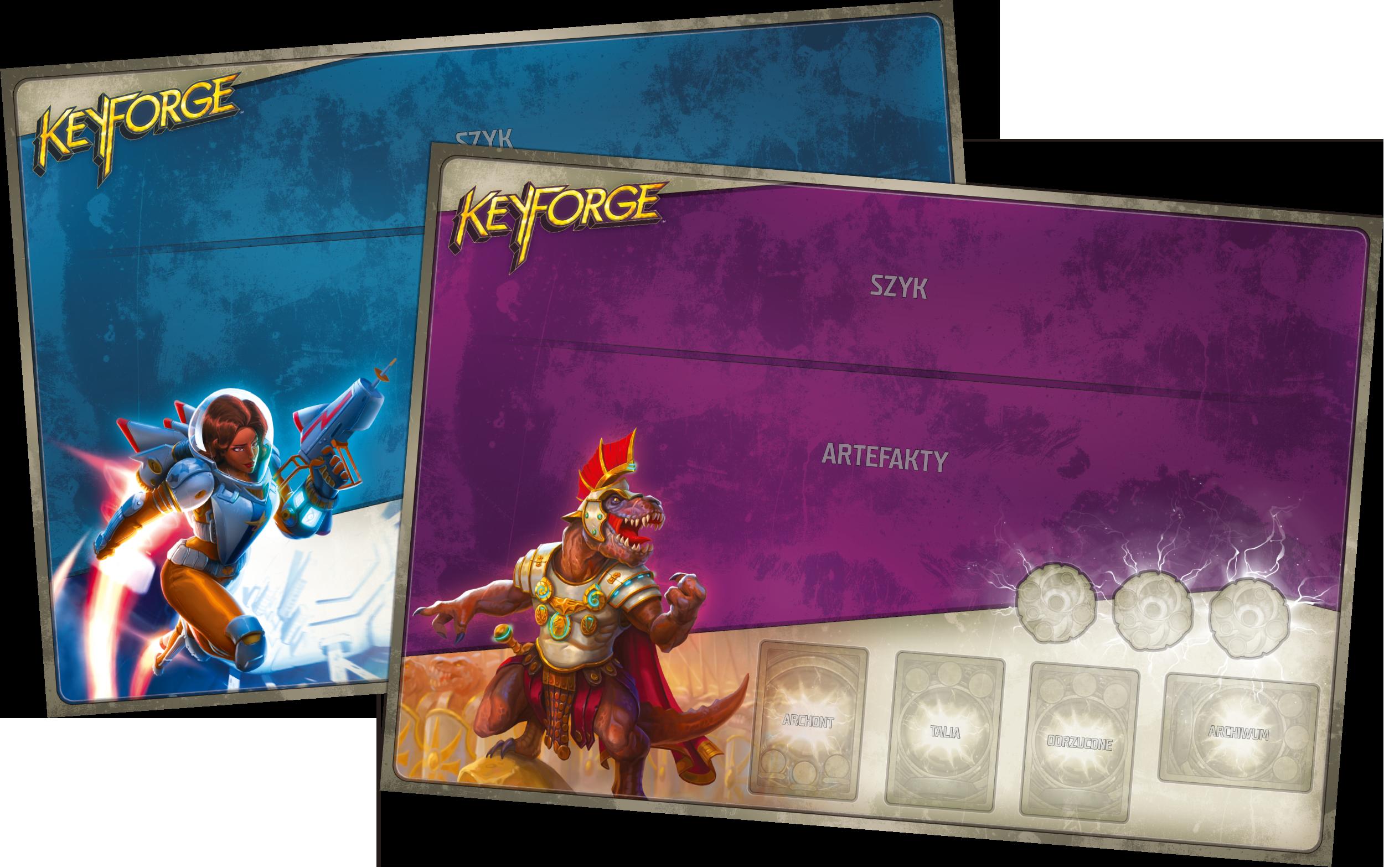 KeyForge: Zderzenie Światów - Pakiet startowy - 2