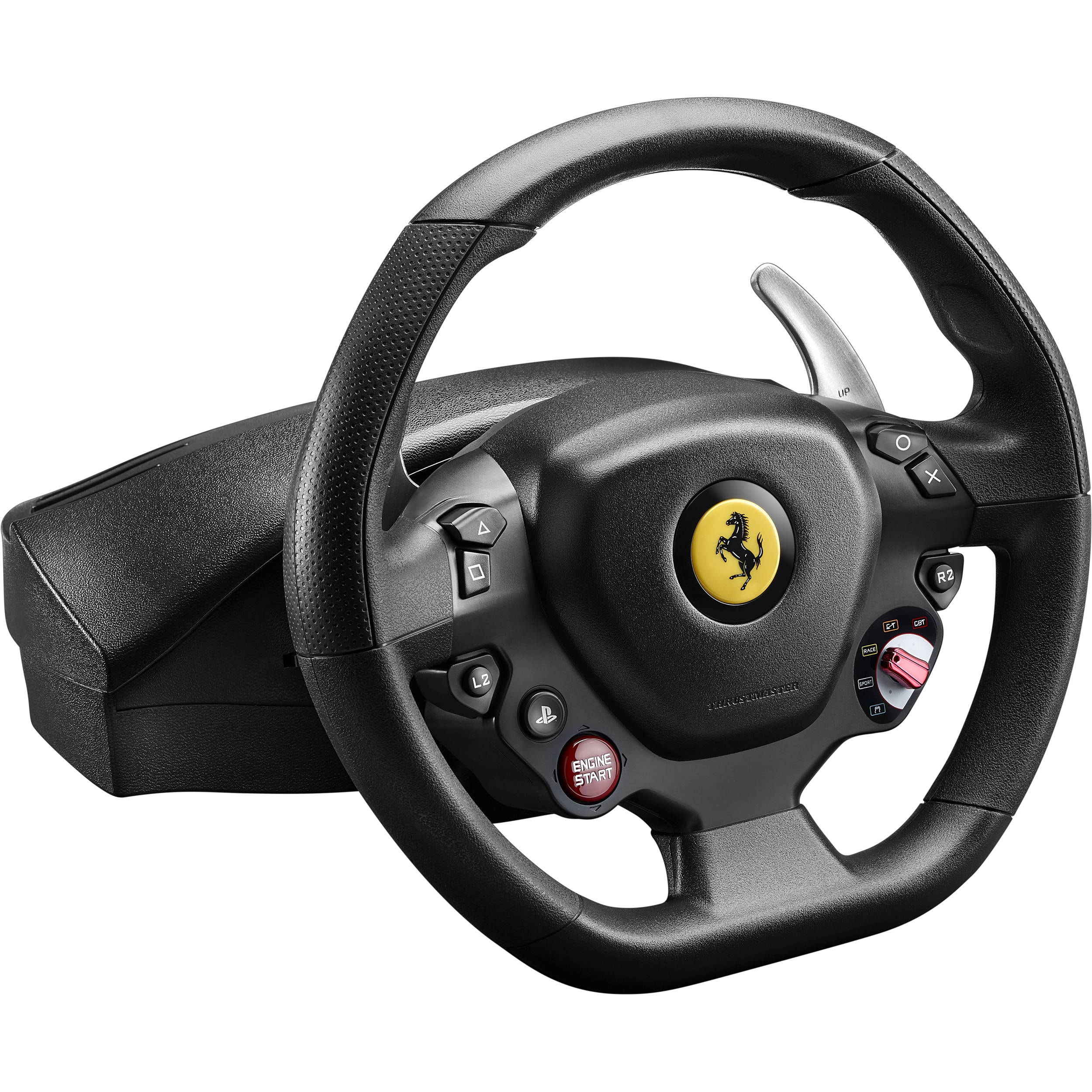 Thrustmaster Driving Wheel T80 Ferrari - GTB Edition (PC, PS4) - Black - 2