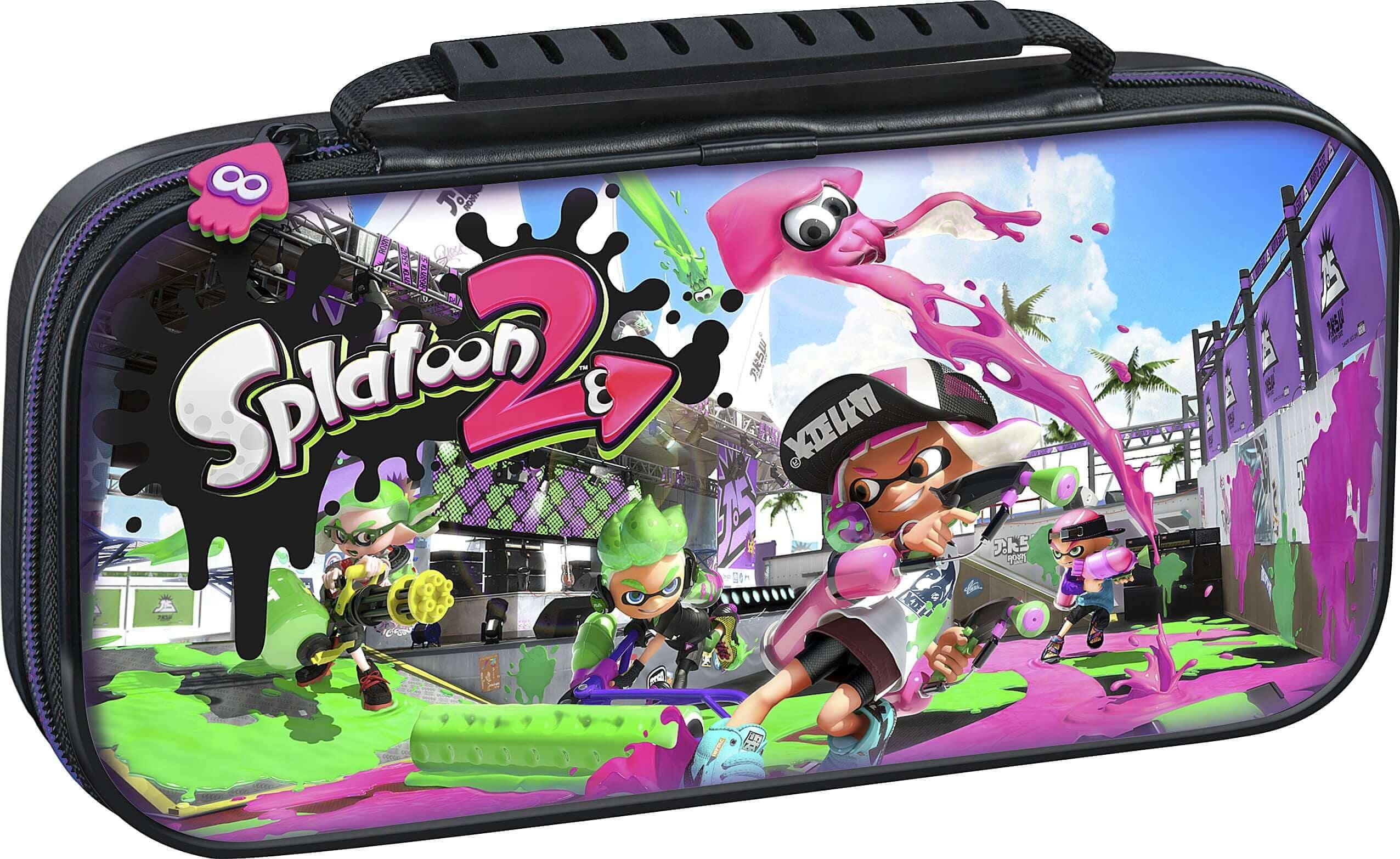 Nintendo Switch BigBen Game Traveler Deluxe Case Splatoon 2 - 1
