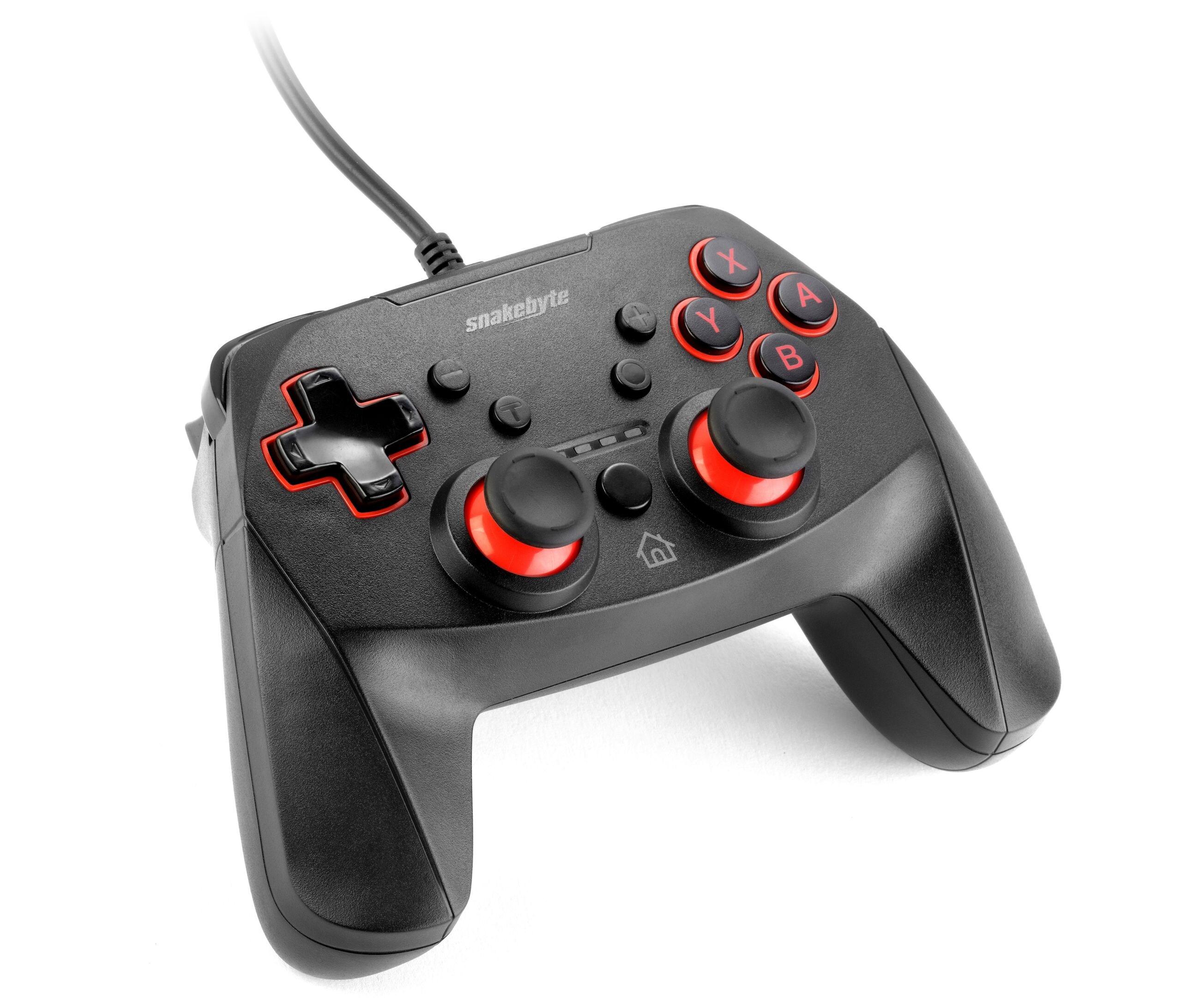 Snakebyte GAME:PAD S™ Nintendo Switch Black - 1