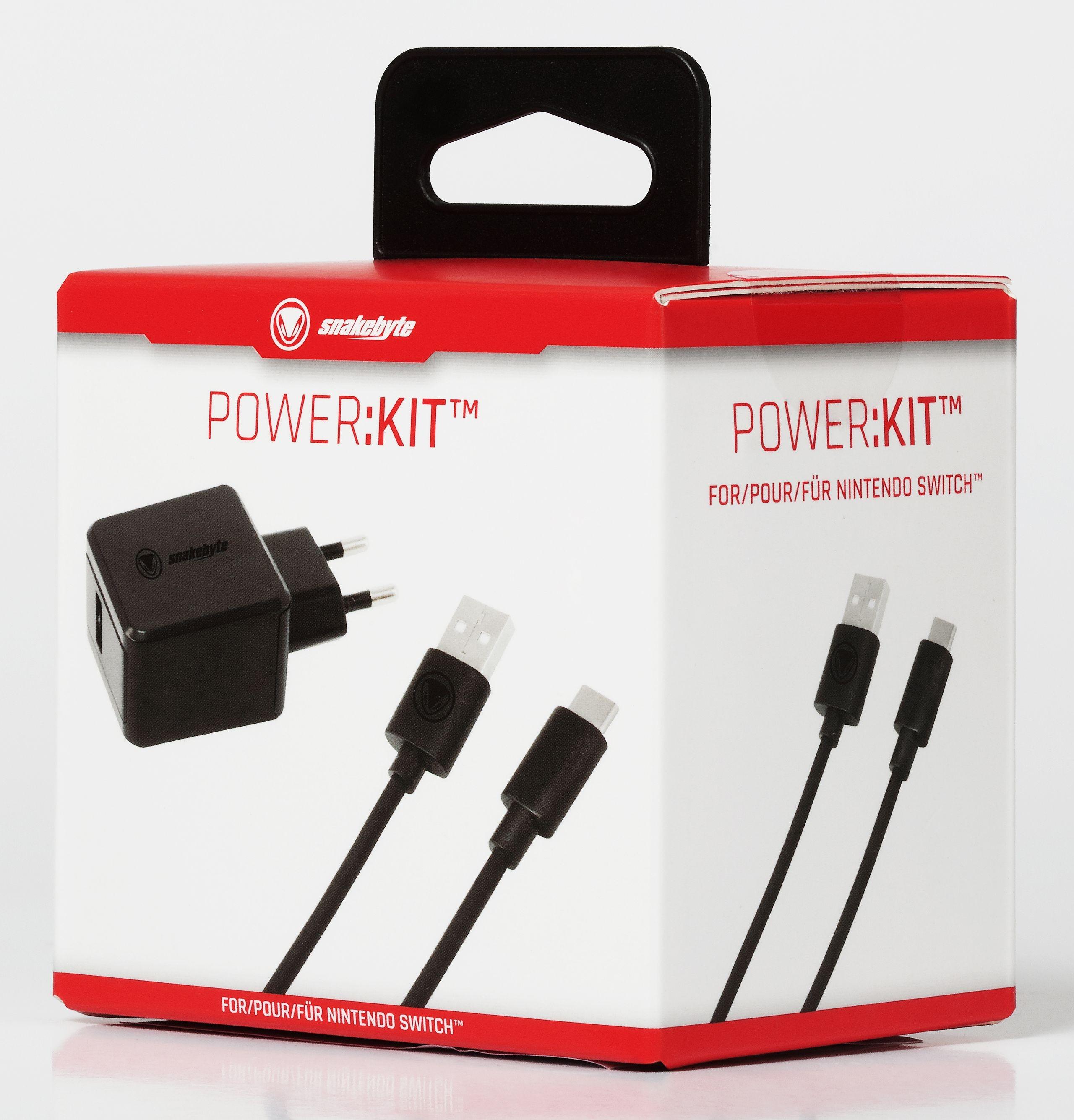 snakebyte ładowarka sieciowa do konsoli Nintendo Switch POWER:KIT EU - 4