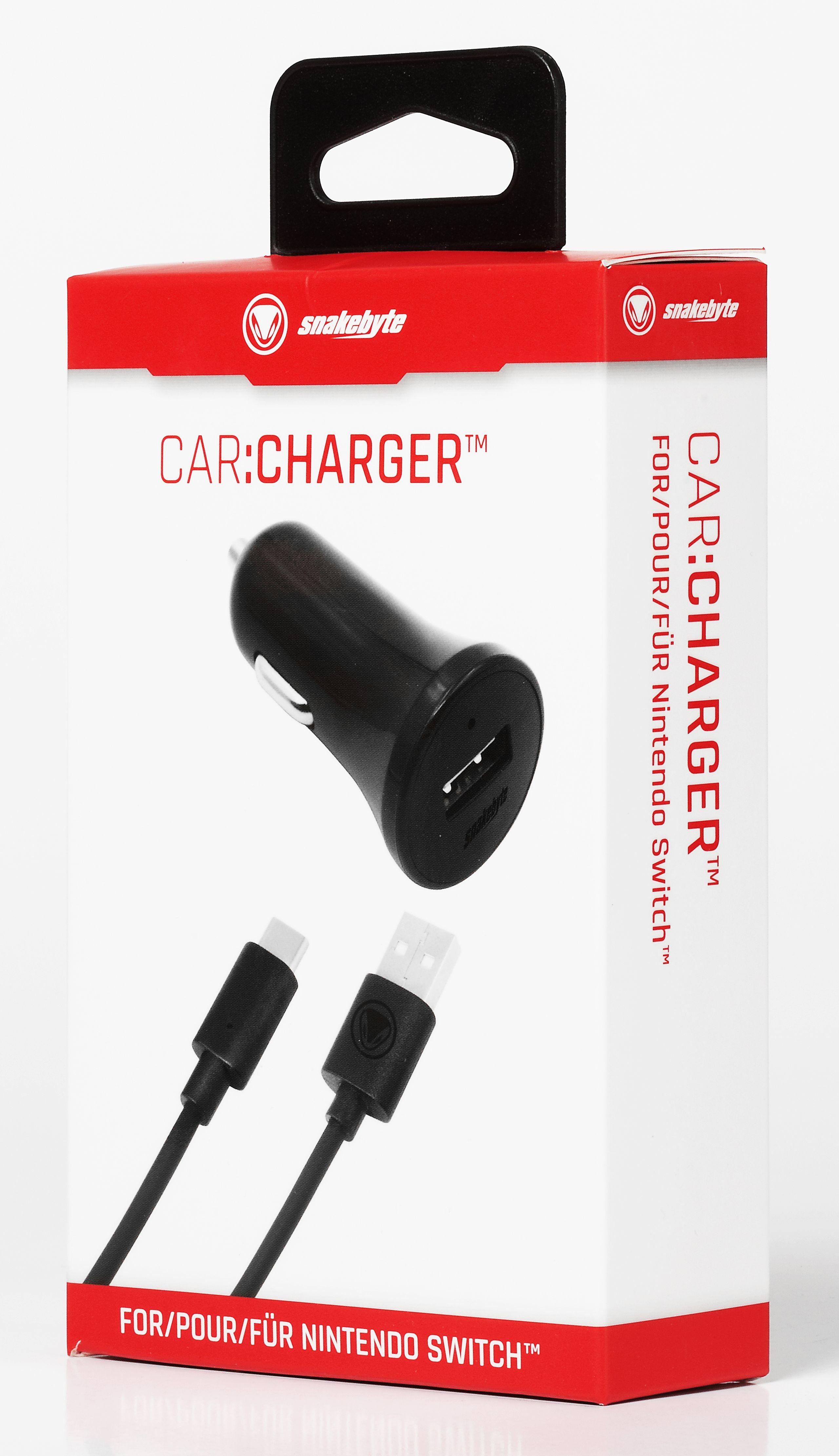 snakebyte ładowarka samochodowa do konsoli Nintendo Switch CAR:CHARGER - 3