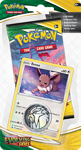 Pokémon TCG: Evolving Skies Checklane Blister EEVEE - 1