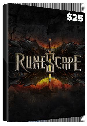 Runescape Prepaid Card 25 USD NORTH AMERICA - 2