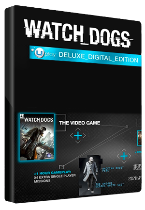 Watch Dogs Digital Deluxe Edition Ubisoft Connect Key GLOBAL - 1