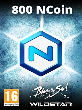800 NCoins - NCSoft Key - GLOBAL - 1