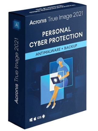 Acronis True Image Backup Software 2021 (PC, Android, Mac, iOS) 1 Device, Lifetime - Acronis Key - GLOBAL - 1