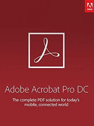 Adobe Acrobat Pro DC Subscription (PC/Mac) 3 Months - Adobe Key - AUSTRALIA - 1