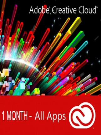 Adobe Creative Cloud (PC) 1 Month - Adobe Key - GLOBAL - 1