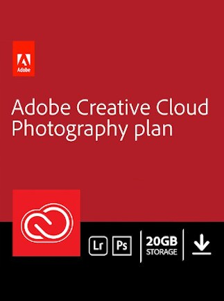 Adobe Creative Cloud Photography Plan 20 GB Subscription 3 Months - Adobe Key - UNITED STATES - 1