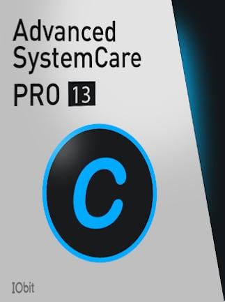 Advanced SystemCare 13 PRO 1 Device 1 Year IObit Key GLOBAL - 1