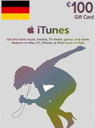 Apple iTunes Gift Card 100 EUR iTunes GERMANY - 1
