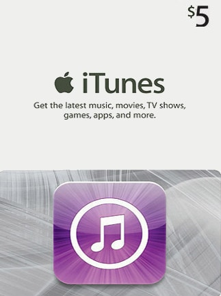 Apple iTunes Gift Card 5 USD - iTunes - UNITED STATES - 1