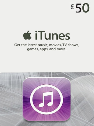 Apple iTunes Gift Card UNITED KINGDOM 50 GBP iTunes - 1