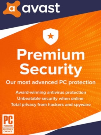 Avast Premium Security (1 Device, 2 Years) - PC - Key GLOBAL - 1