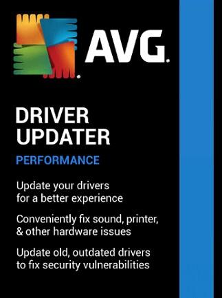 AVG Driver Updater (PC) 1 Device, 3 Years - AVG Key - GLOBAL - 1