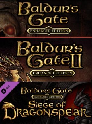 Baldur's Gate: The Complete Saga Steam Key GLOBAL - 1