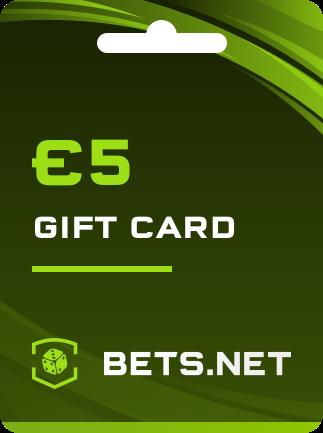 Bets.net Gift Card GLOBAL 5 EUR - 1