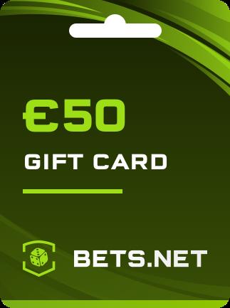 Bets.net Gift Card GLOBAL 50 EUR - 1