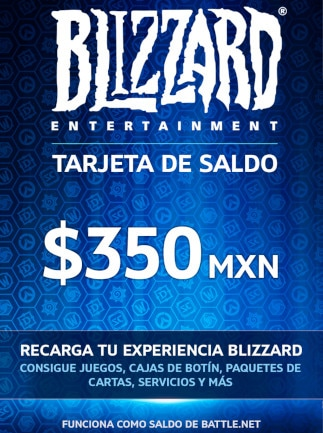 Blizzard Gift Card 350 MXN Battle.net MEXICO - 1