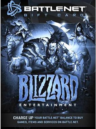 Blizzard Gift Card 50 BRL Battle.net BRAZIL - 1
