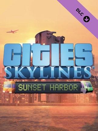 Cities: Skylines - Sunset Harbor (PC) - Steam Key - GLOBAL - 1