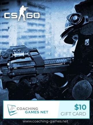 CS GO Coaching Gift Card Coaching-Games.net GLOBAL Key 10 USD - 1
