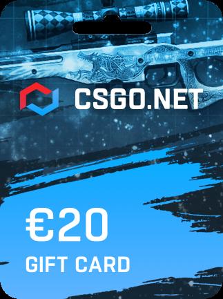 CSGO.net Gift Card 20 EUR - 1