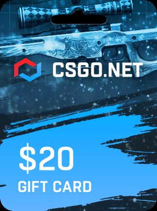 CSGO.net Gift Card 20 USD - 1