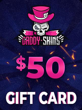DaddySkins Gift Card DaddySkins Code 50 USD - 1