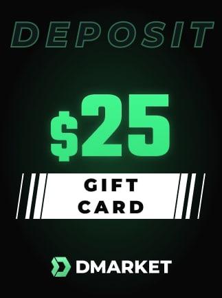 DMarket Gift Card 25 USD - Key - GLOBAL - 1