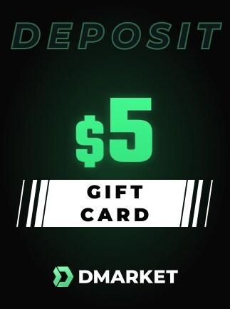 DMarket Gift Card 5 USD - Key - GLOBAL - 1