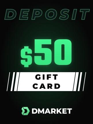 DMarket Gift Card 50 USD - Key - GLOBAL - 1