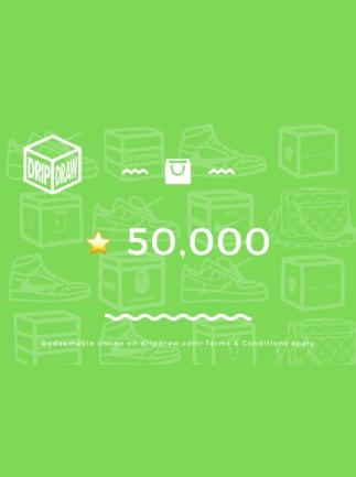 DripDraw Gift Card 50000 Stars - DripDraw Key - GLOBAL - 1