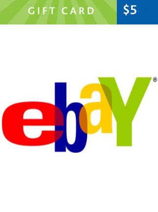Ebay Gift Card 5 USD UNITED STATES - 1