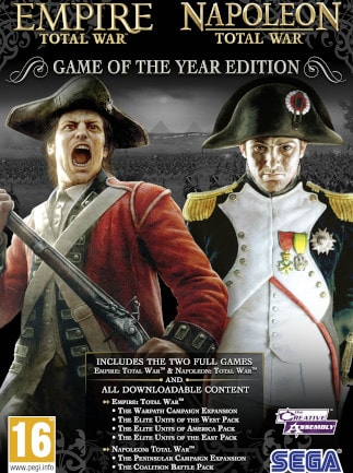 Empire and Napoleon: Total War GOTY (PC) - Steam Key - GLOBAL - 1