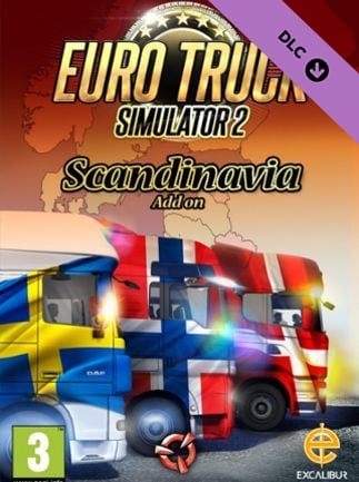 Euro Truck Simulator 2 - Scandinavia Steam Key GLOBAL - 1