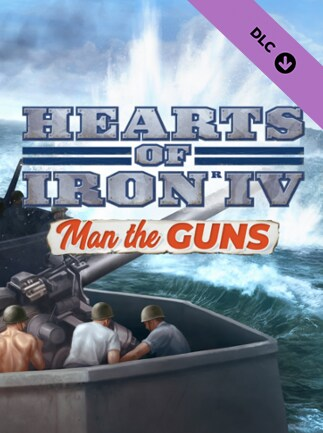 Expansion - Hearts of Iron IV: Man the Guns Steam Key GLOBAL - 1