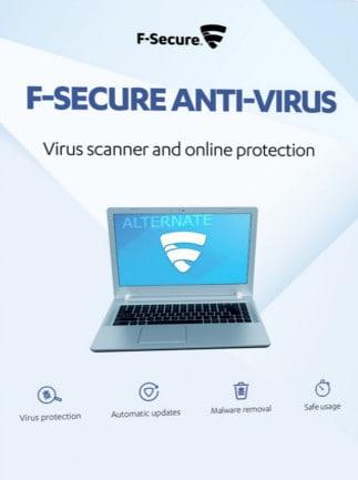 F-Secure Antivirus 1 Device 3 Years Key GLOBAL - 1