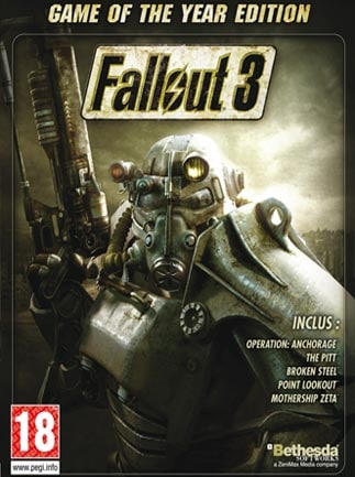 Fallout 3 - Game of the Year Edition Steam Key GLOBAL - 1