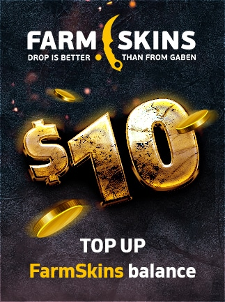 Farmskins Wallet Card FARMSKINS.COM GLOBAL Key 10 USD - - - 1