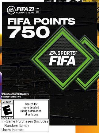 Fifa 21 Ultimate Team 750 FUT Points - Xbox Live Key - GLOBAL - 1