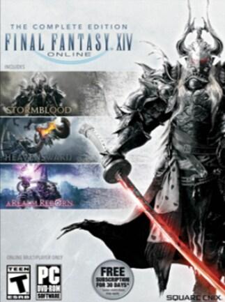 FINAL FANTASY XIV ONLINE COMPLETE EDITION Final Fantasy Key EUROPE - 1