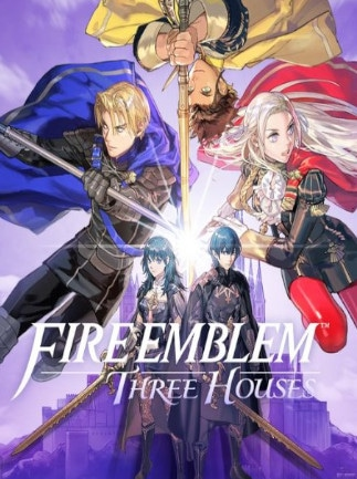 Fire Emblem: Three Houses Key Nintendo Switch NORTH AMERICA - 1
