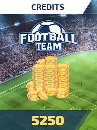 Football Team 5250 Credits - footballteam Key - GLOBAL - 1