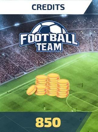 Football Team 850 Credits - footballteam Key - GLOBAL - 1