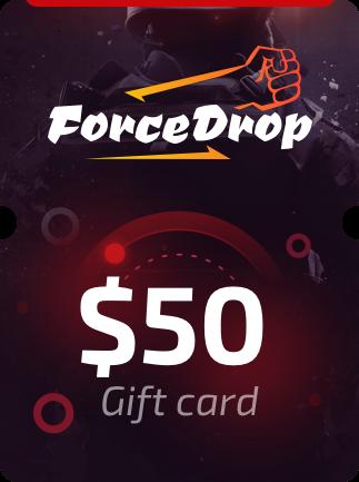 Forcedrop.gg Gift Card 50 USD - Code GLOBAL - 1
