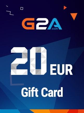 G2A Gift Card G2A.COM Key GLOBAL 20 EUR - 1
