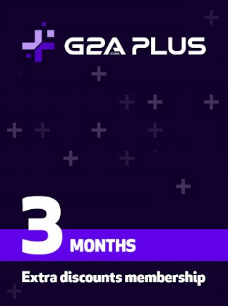G2A PLUS - one-time activation code (3 Months) - G2A.COM Key - GLOBAL - 1