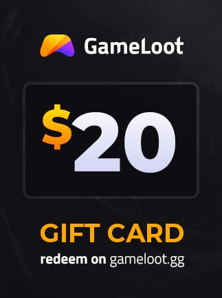 GameLoot Gift Card GameLoot GLOBAL Code 20 USD - 1